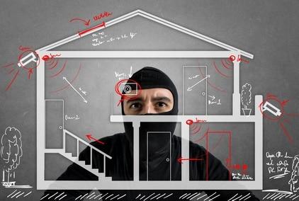 Einbruchsabwehr, smart home cloud