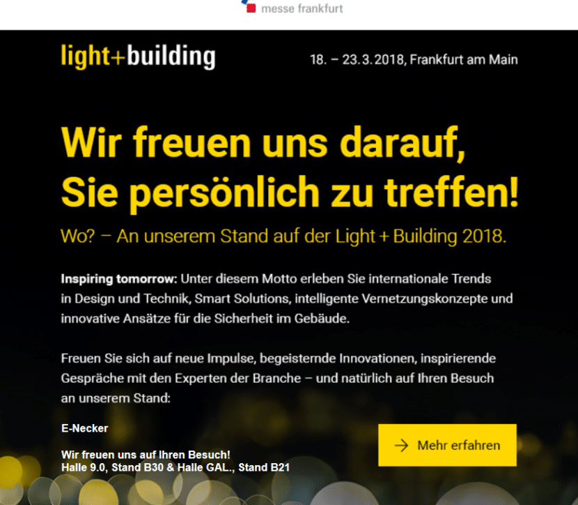knx light and building